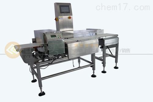 食品称重金检机 重量选别金属检测剔除机