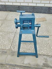 铁皮管道保温手动压边机机械