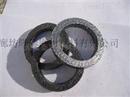 柔性石墨盘根环 金属丝增强高温高压盘根