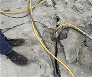 大型坚硬石头静态破碎裂石机