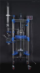 生產型50L雙層玻璃反應釜/合成反應器
