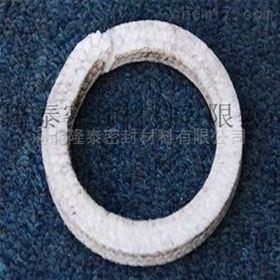 密封全新料食品级PTFE纯白四氟盘根环