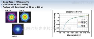 無截止單模,大模場面積光纖