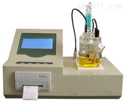 卡尔费休水分测定仪双CPU设计,显示报告值