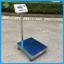 上海电子秤厂家TCS-50kg台式带立杆记重磅秤