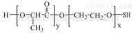 PLA聚合物PLA-PEG-SH MW:2000两嵌段共聚物