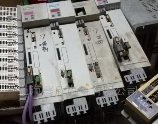 西门子伺服变频器三相电压低/不正常维修