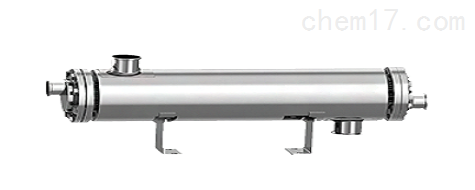 单流程双管板换热器
