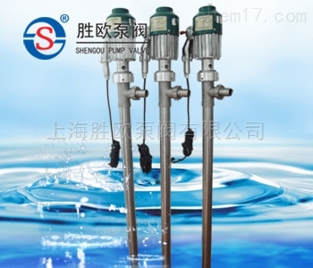 SY系列不锈钢电动插桶泵(溶剂泵)