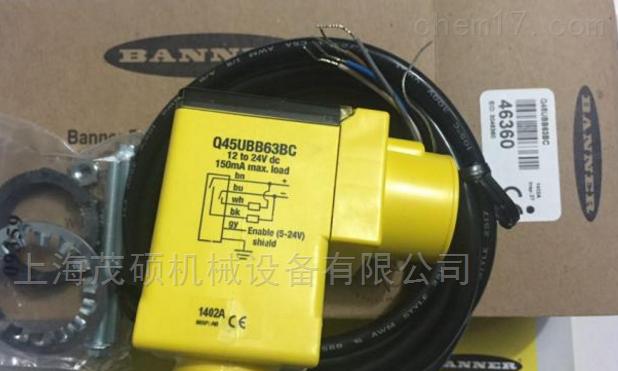 美国BANNER传感器BT23SM8特价邦纳优势
