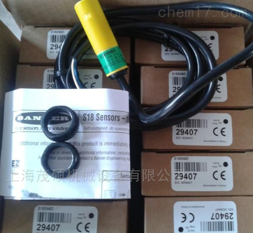 BANNER传感器QS18VN6LD全国优势邦纳光幕