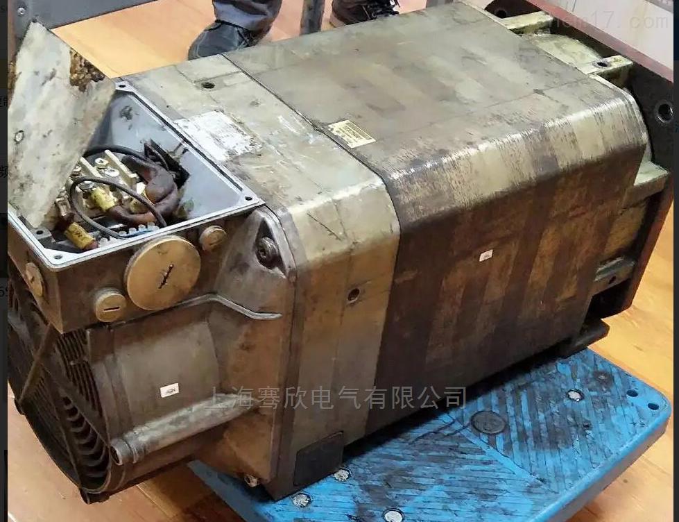 德系机床1PH8主轴电机编码器报警-当天修复