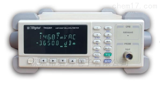 TH2281交流毫伏表