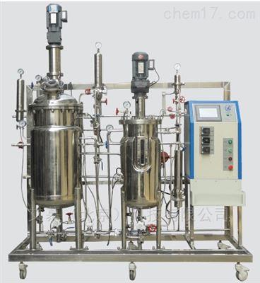 FC-10-100ZN智能型雙聯機械攪拌發酵罐