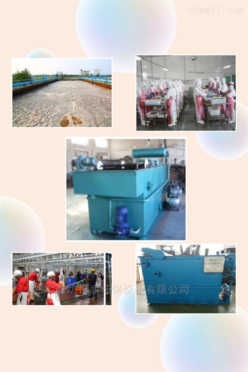 河北省屠宰厂血水处理设备RL容器气浮机