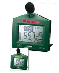 EXTECH可閃光報警噪聲計SL130聲級計/噪音計