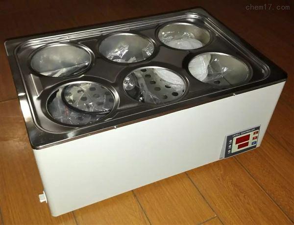 6孔一次成型恒温水浴锅