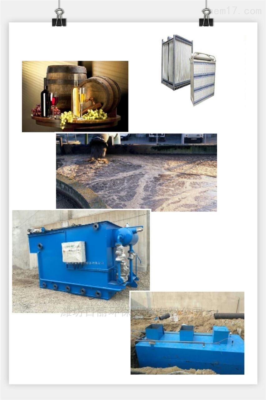 河套地区葡萄酒污水处理设备RL-MBR膜一体化