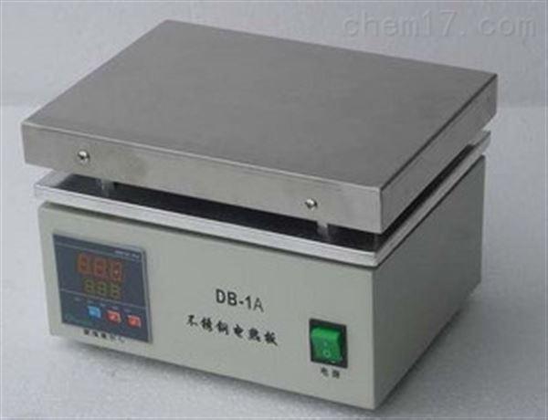 供应上海左乐数显控温不锈钢电热板DB-4A