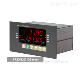 XK3190-C602分選秤稱重儀表顯示控制器