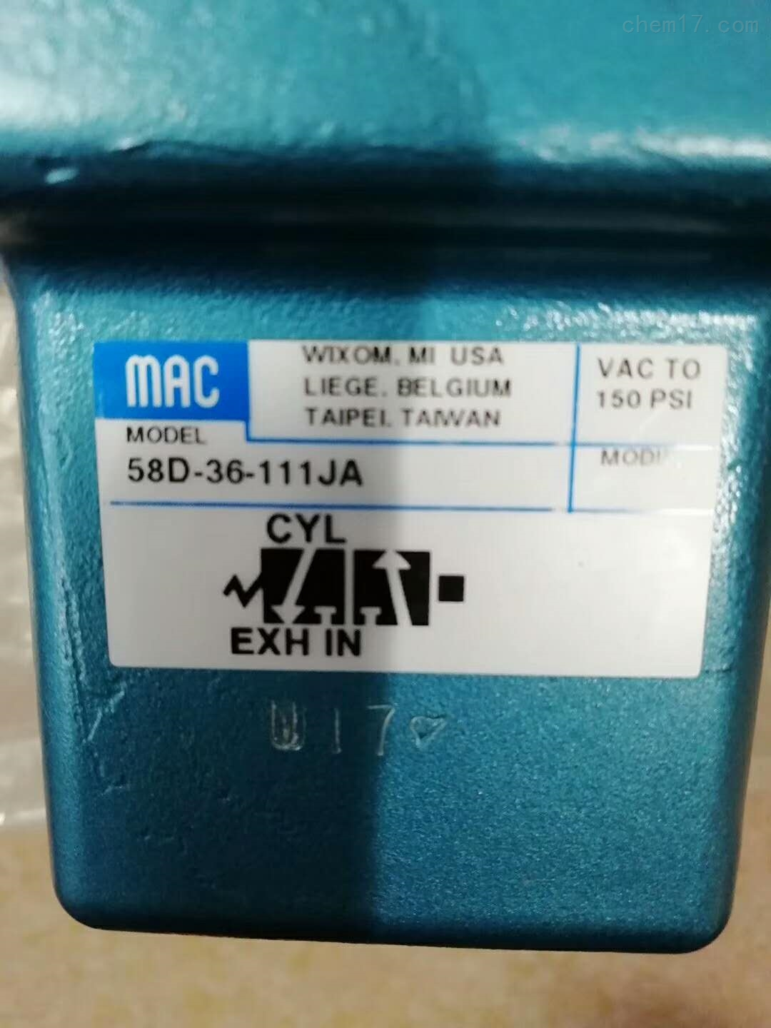 美国MAC原装进口DMB-DDAA-1BA线圈