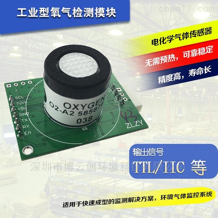 工业型进口O2氧气传感器模块