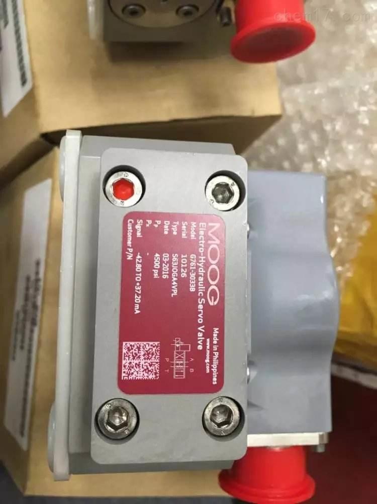 进口正品美国穆格MOOG伺服阀G761-3009B