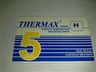 5格H英国TMC5格H热敏试纸216-246度感温变色贴纸