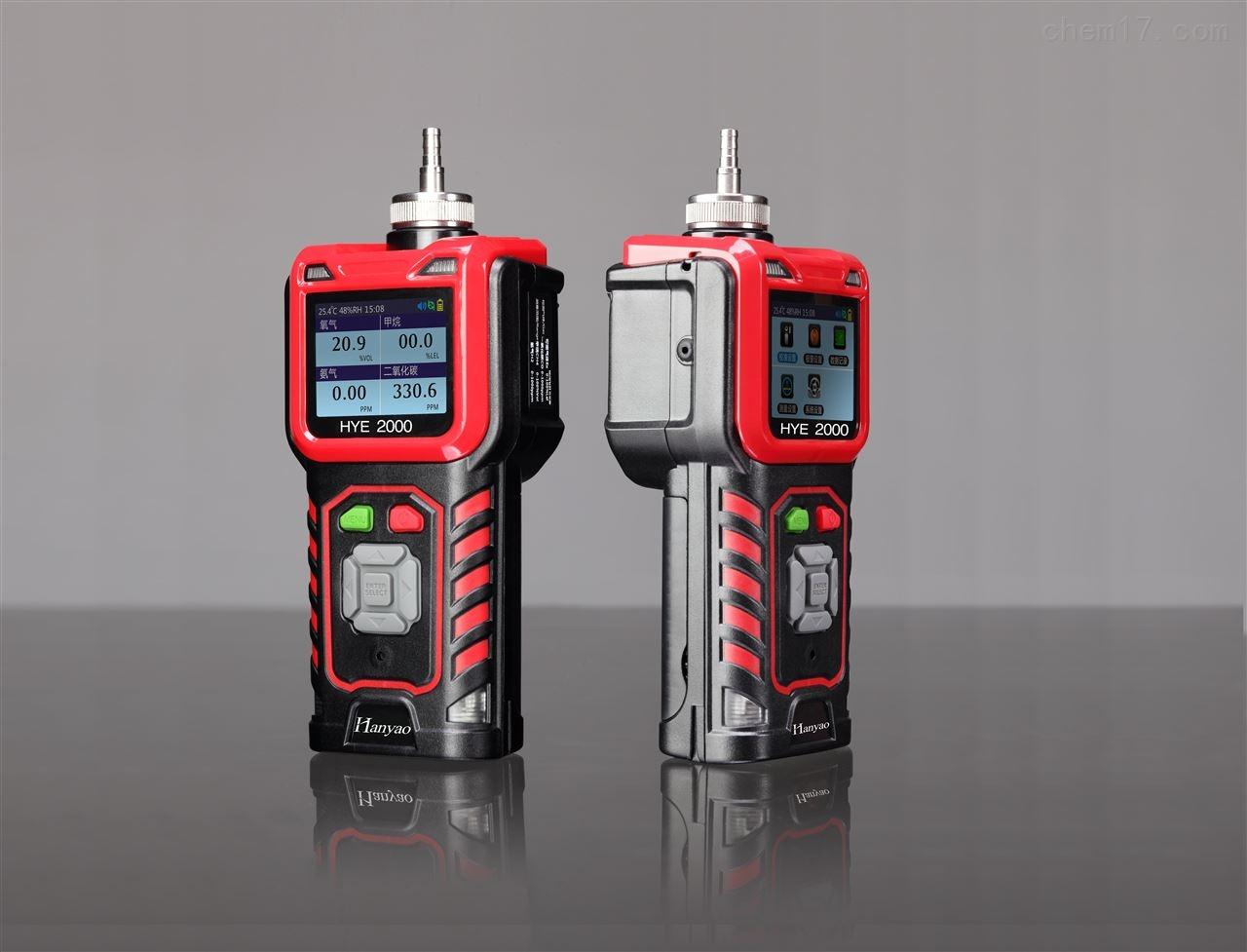 武胜泵吸式二氧化碳气体检测仪测浓度