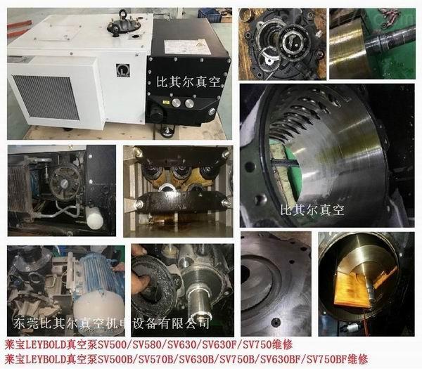 萊寶SV630B旋片真空泵維修