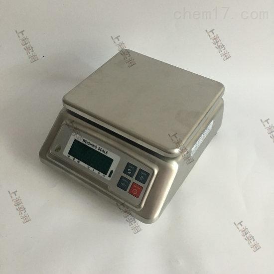 防水性能高的6公斤不锈钢电子桌秤