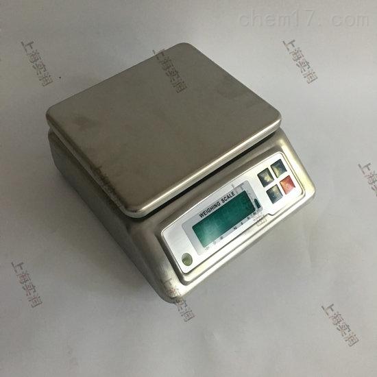 3公斤电子防水称,食品厂6kg不锈钢防水案秤