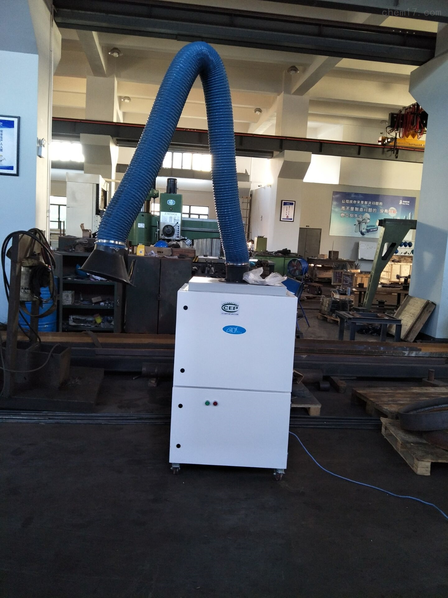 工厂焊接烟尘收集用吸尘器
