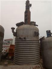长期出售二手15立方不锈钢反应釜