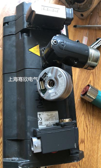 西门子加工中心X轴Y轴电机烧坏维修