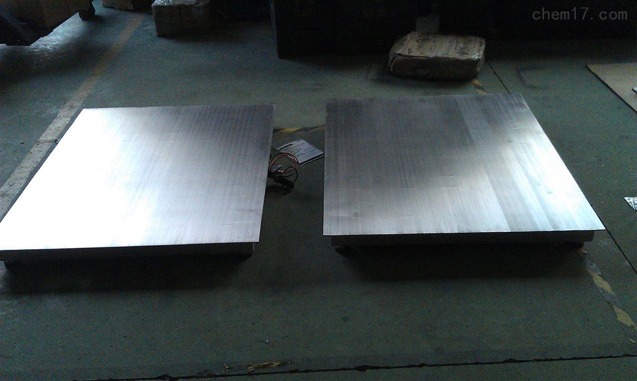 食品厂防腐电子秤500公斤不锈钢地磅价格