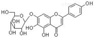 野黄芩素-7-O-葡萄糖苷标准品26046-94-6