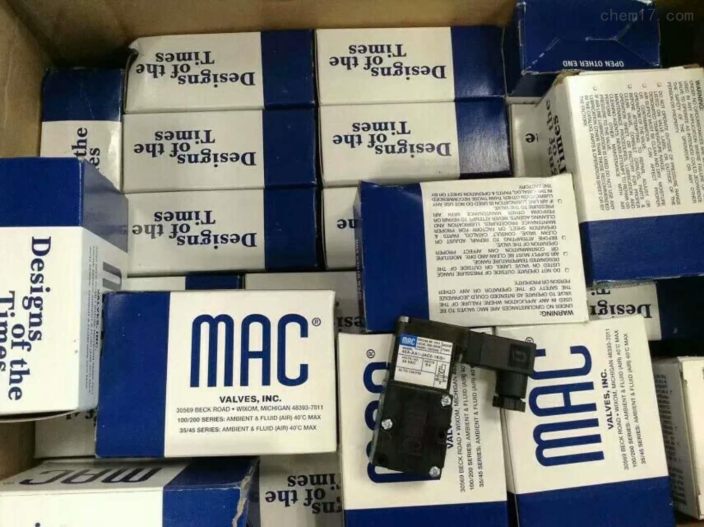 MAC传感器美国报价
