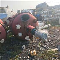 回收二手搪瓷电加热反应釜