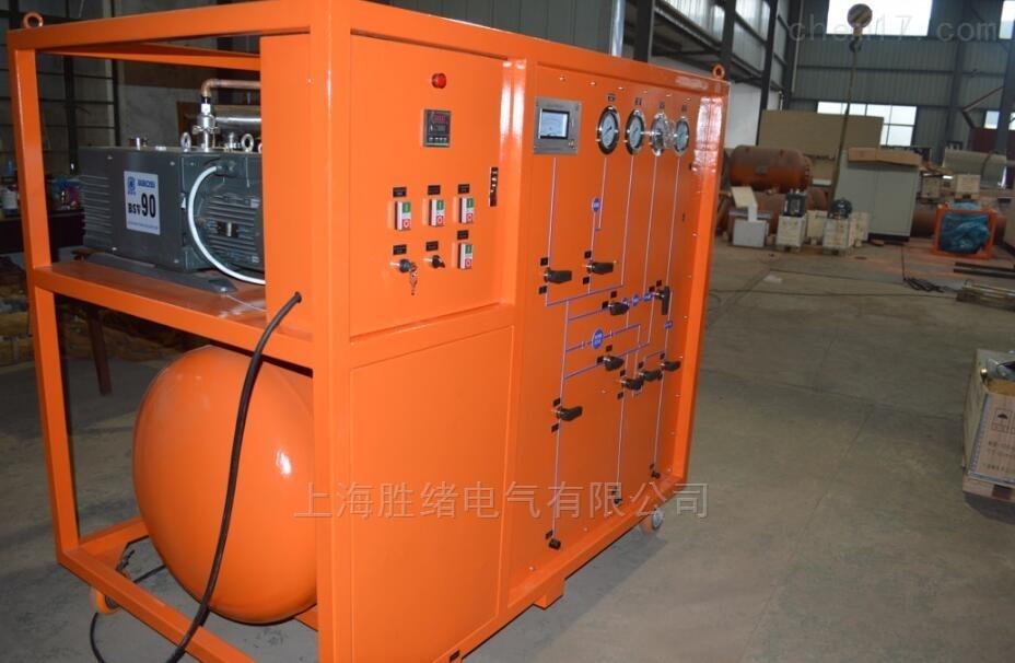 气体抽真空充气装置真空泵