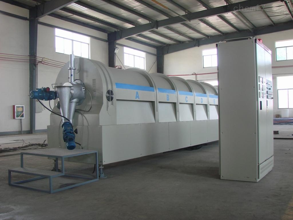 大型连续回转式气氛保护电阻炉
