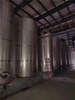 二手不锈钢立式大型葡萄酒储罐
