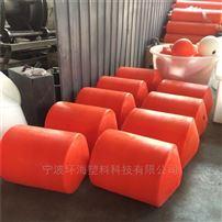FT600*1000水面绿草攔汙浮筒 塑胶抗冲击浮筒生产厂家