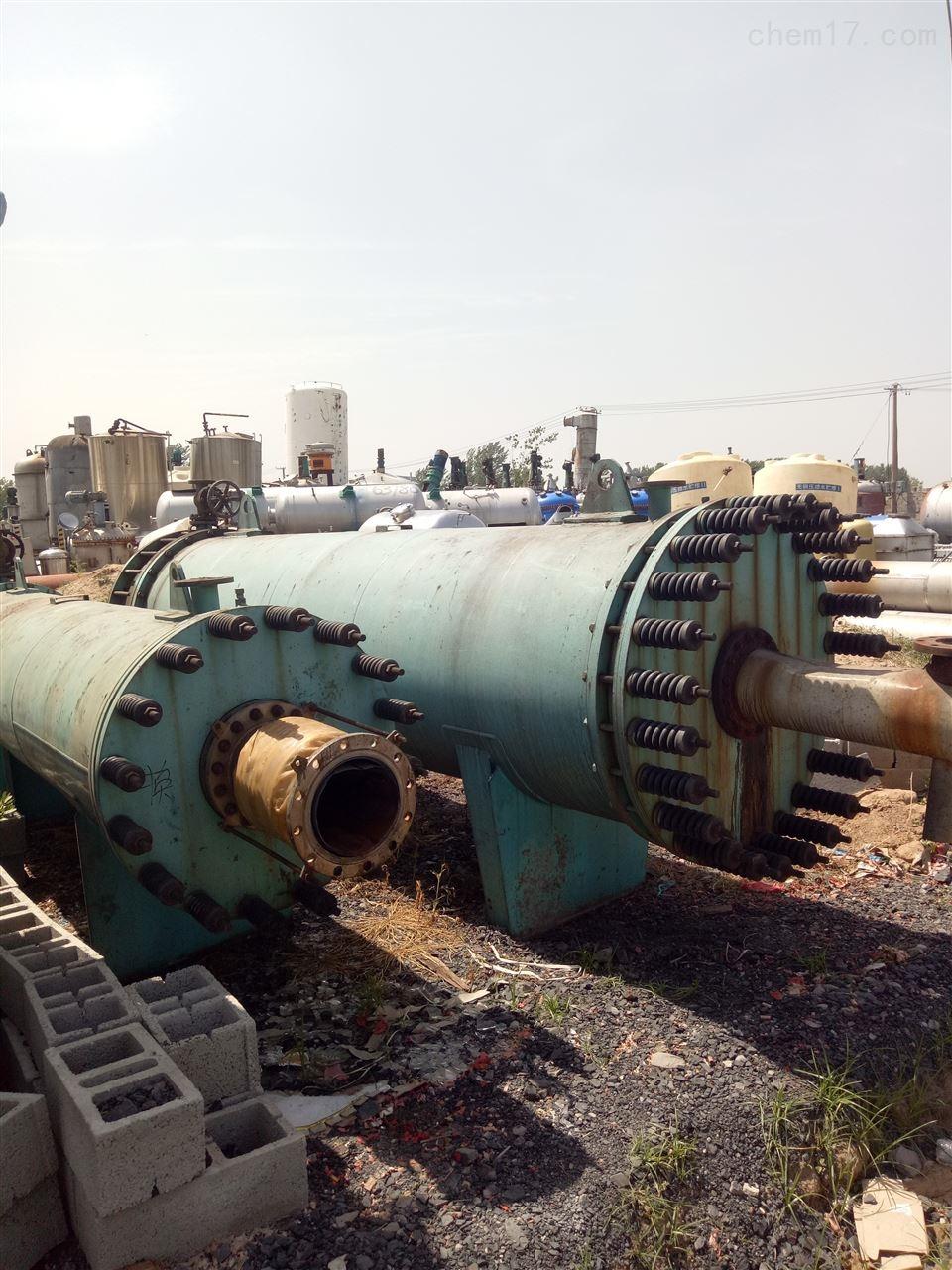 石墨列管泠凝器大量回收二手80平方的石墨列管泠凝器