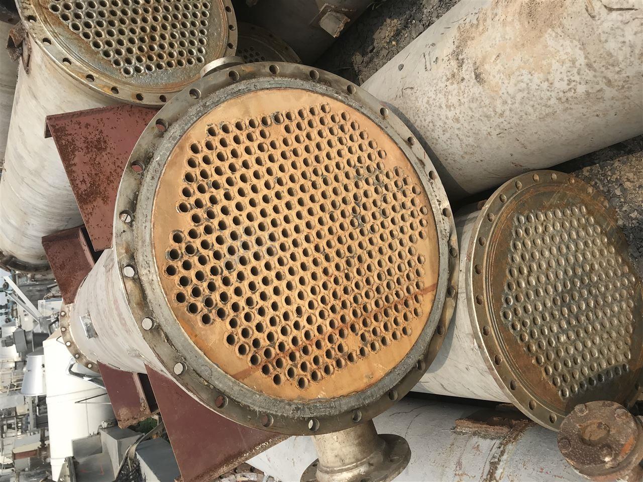 全不锈钢冷凝器二手200平方全不锈钢冷凝器 回收