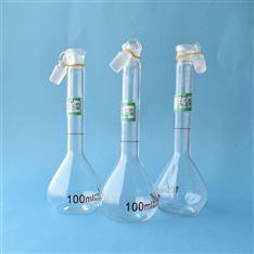 带计量证书透明容量瓶