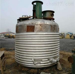 回收二手2吨搪瓷反应釜