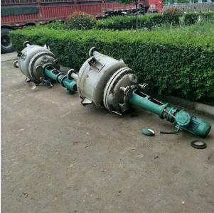 二手6吨不锈钢反应釜回收报价
