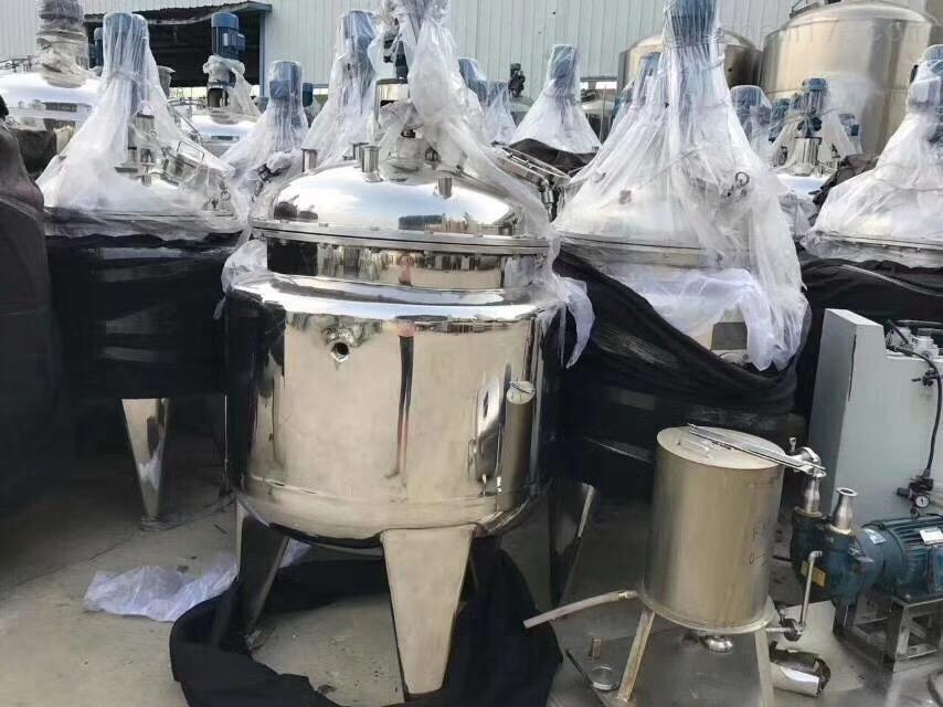 带加热不锈钢储罐回收二手30立方带加热的不锈钢储罐