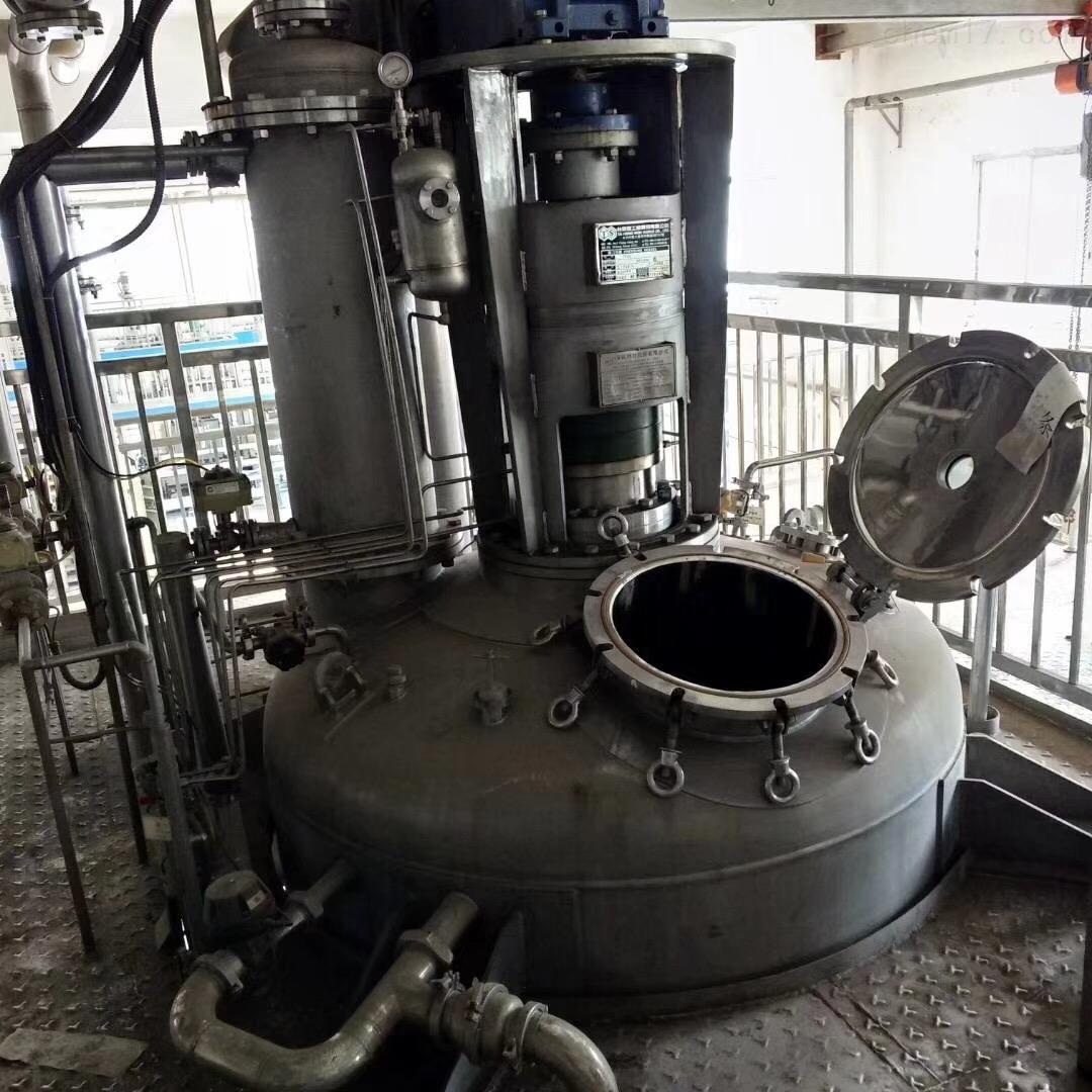 回收二手电加热不锈钢搅拌罐价格高